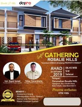 Undangan Acara Gathering Perumahan Syariah Rosalie Hills