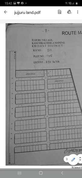 plot for sale at jujjuru