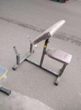 Preacher curl bench adjustable bench