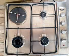 [Imported] Teka E/60.2 3G1P Gas Hob With 1 Electric Burner