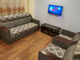 Fully furnished private apartment for  weekly rent.