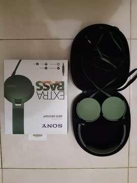 Jual headphone sony mdr-xd550ap