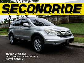 (CASH) HONDA CRV 2.4 2010 AT, FACELIFT, ELECTRIC SEAT, MINT CONDITION!