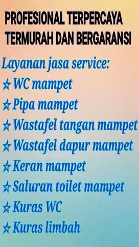 Ahli Pipa Mampet & Jasa Sedot / Kuras WC (Tukang Atasi Toilet Buntu)