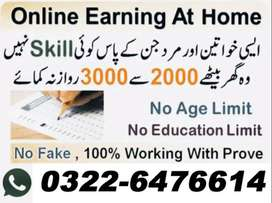 Online Job Opportunity For Youngest Males & Females