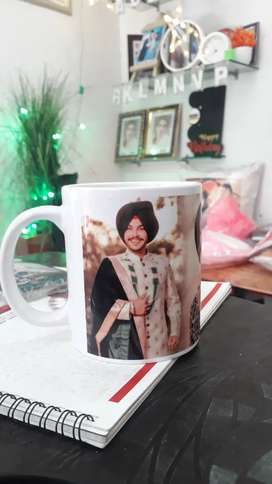 White mug with foto to all print items in cheap price