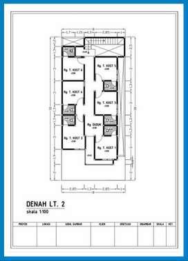 Rumah Kost Design Mewah  Siap Bangun Selatan UMY