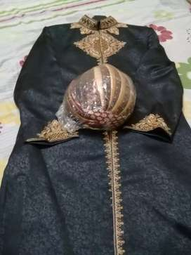 Dulha Sherwani Large size in excellent Condition