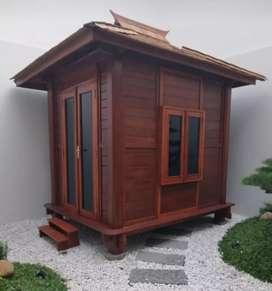 Rumah kayu ukuran 2mx3m