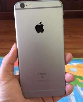 Iphone 6+ 16gb warna abu2