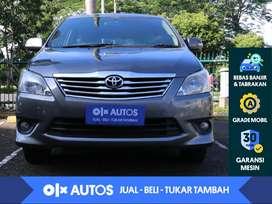 [OLX Autos] Toyota Kijang Innova 2.5 V Diesel A/T 2013 Abu - Abu