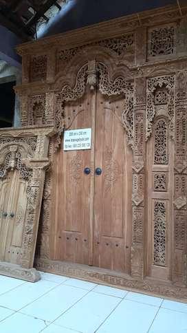 marni cuci gudang pintu gebyok gapuro jendela rumah masjid musholla