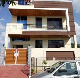 180 वर्ग गज स्वतंत्र दो मंजिला ( Semi Duplex ) मकान 90 % लोनेबल