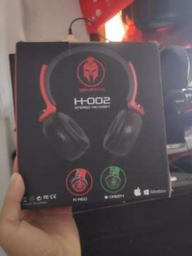 Headset Gaming Spartan H-002 stereo
