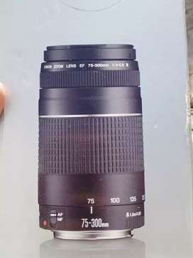 75-300mm Lens Good Condition only 01 month use
