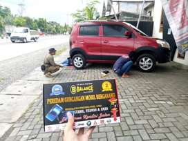 Buat Mobil Pribadimu Tetap STABIL dg memasang BALANCE Karet PENSTABIL