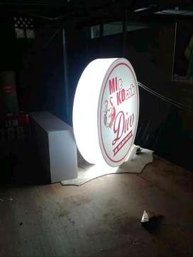 neonbox | sign post | rexlame