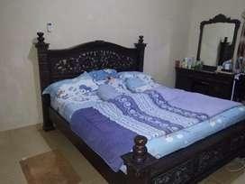 Tempat tidur jati (1 set)
