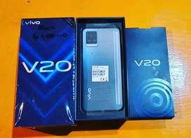 Vivo V20 midnight Jazz Ram 8/128Gb baru bergaransi resmi vivo 1tahun