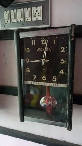 Antique automatic wall clock