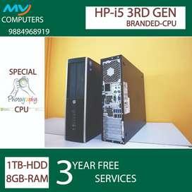 FREE with 3 year warranty# cpu@hp* i5-3rd gen*8GB ram-1TB HDD