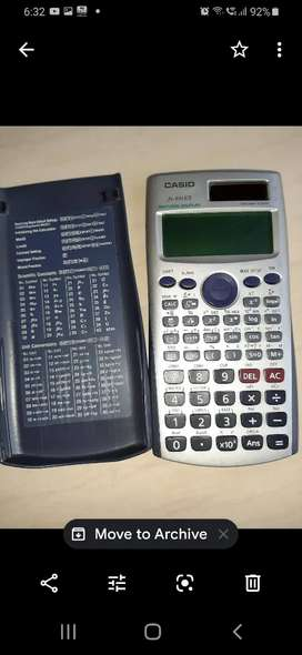 Casio FX-991ES, scientific calculator