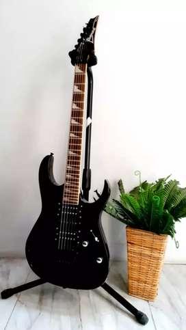 Gitar Ibanez RG Series Hitam Custom New