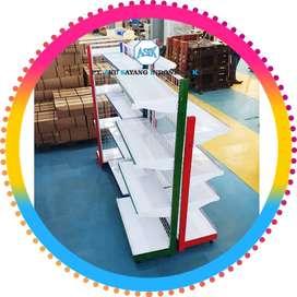 Pusat Pabrik Produksi Rak Gondola Minimarket