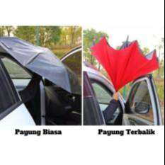 Payung Mobil Terbalik Reverse Umbrella With C Handle
