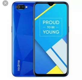 Realme c2 !   one month old.. Good condition with charger, box, bil.