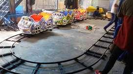 odong odong fiber plat kereta panggung coaster DA DA