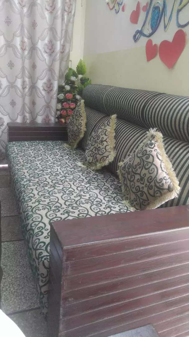 Sofa with big size table 0