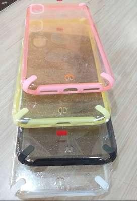 Case Glitter Bumper Iphone X/XS Casing New Bumper Lint Warna Glitter