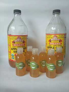 Cuka Apel Bragg Apple Cider Vinegar Share Jar 60ML