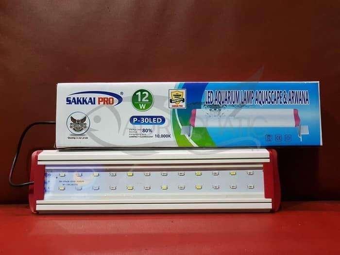 Lampu Aquarium 30-40cm 12watt (3 mode warna) 0