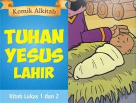 Buku TUHAN YESUS LAHIR - Komik Alkitab Anak