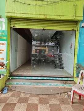 Well maintain shop for rent in Govind Nagar main market