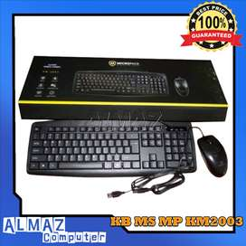 Keyboard Mouse MICROPACK KM2003
