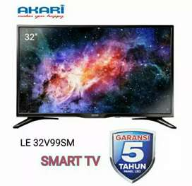 Tv Led Akari 32 In Smart Tv Smart Connect Murah