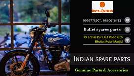Bullet spare parts Ghaziabad Indian spare parts