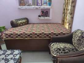 Dark brown colour Diwan in good condition