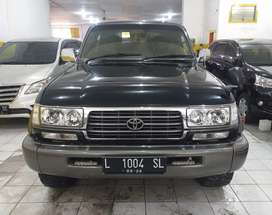 Landcruiser VX diesel 1995 manual hijau