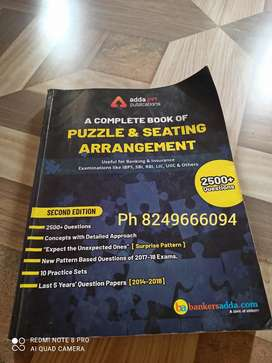 Adda247 a complete book of puzzle and seating arrangement