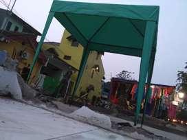 Tenda cafe warna kombinasi nicg
