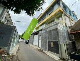 Jual Rumah + Kantor + Gudang 4 Lantai