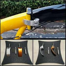 QR Quick Realese / Clamp / Pengunci Frame Tengah Sepeda Lipat