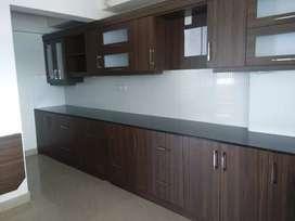 3 BHK semi furnished apartment kakkanad