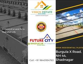 DTCP Approved Open plots for sale at Shadnagar, near Main Road, Get it