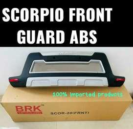 Scorpio front guard abs plastic
