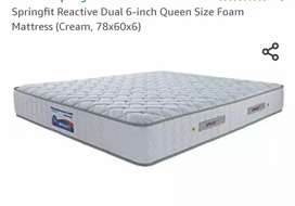 Spring fit reactive mattress